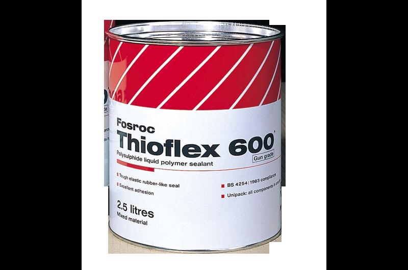 Fosroc Thioflex 600 Gun Grade 2 5litre Construction