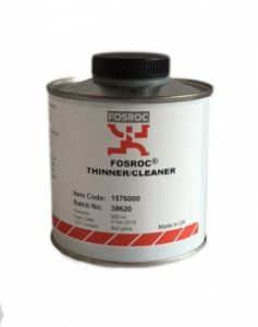 A tin of thinners