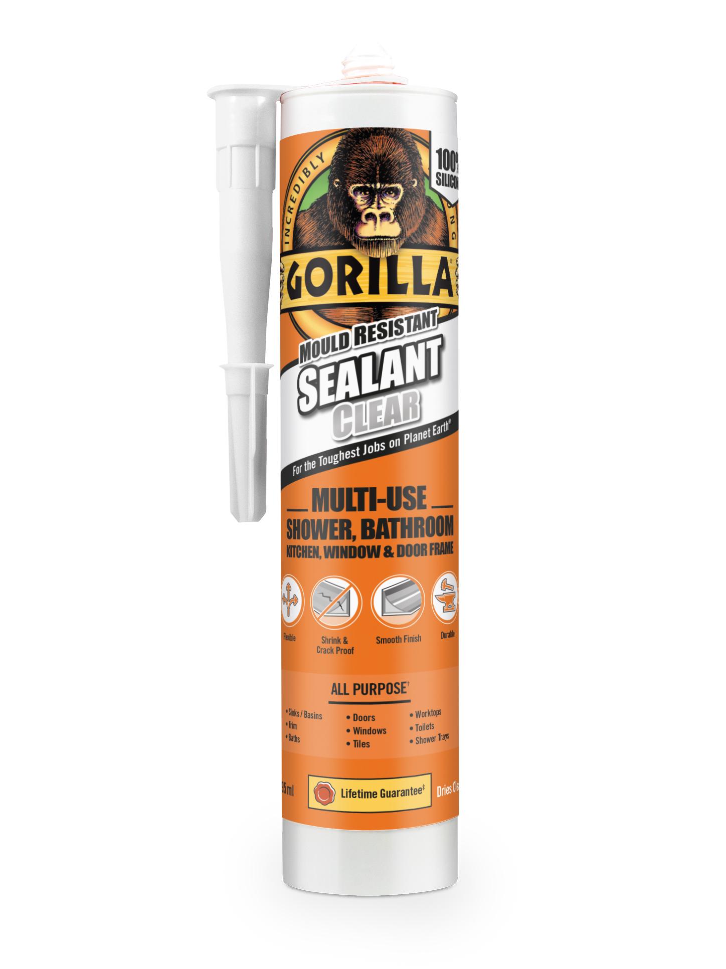 Gorilla Sealant Cartridge Clear RGB